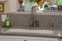 Granite kitchen sink & countertop